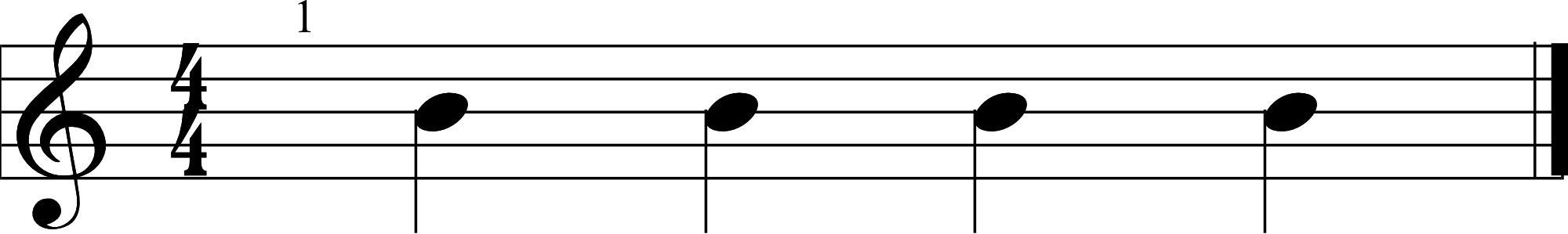 Quarter Note Example