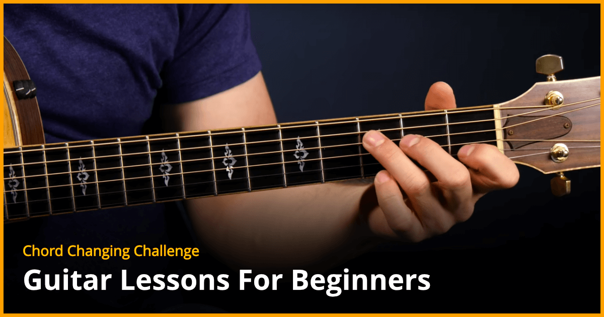 Chord Changing Challenge Beginner Guitar Lesson